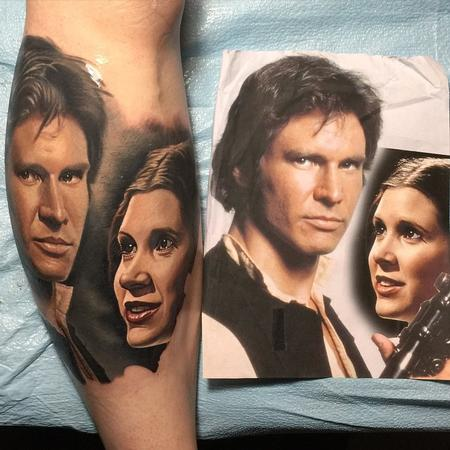 Tattoos - Han and Leia Tattoo - 104585