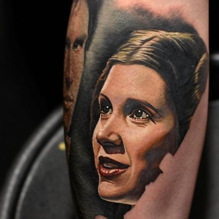 Princess Leia Tattoo Tattoo Design Thumbnail