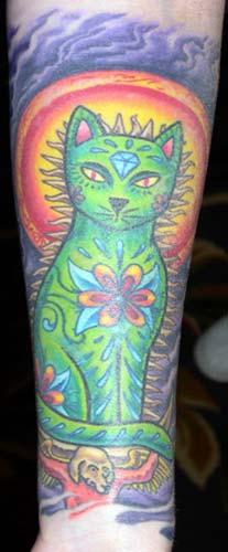 Tattoos - Cat - 11764