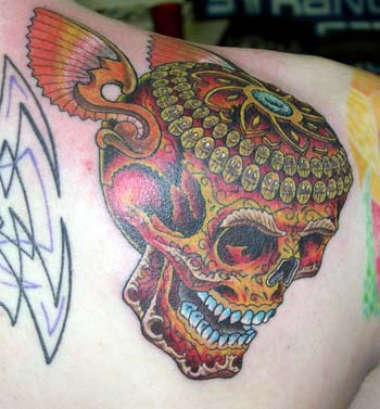 Tattoos - Ornate Skull 2 - 11789