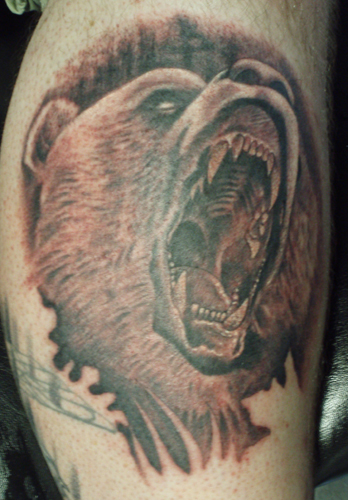 grizzly bear tattoos. Tattoos