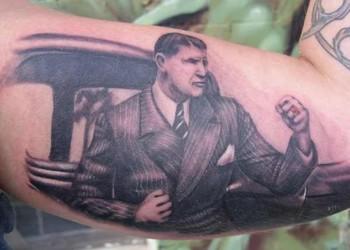 Chrissys' grandpappy Tattoo Design
