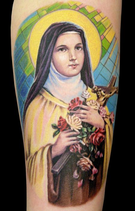 Tattoos - Saint Theresa - 100148