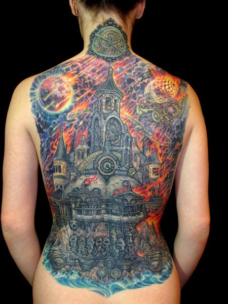 Tattoos - Steampunk Armageddon - 100134
