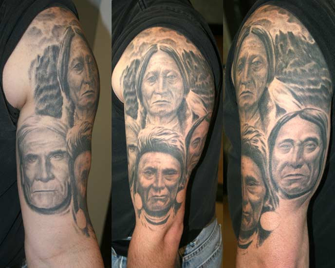 no regrets tattoo body piercing tattoos realistic native