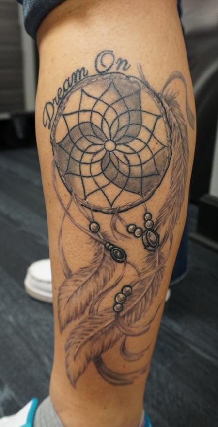 Tattoos - Custom freehand Dreamcatcher - 114862
