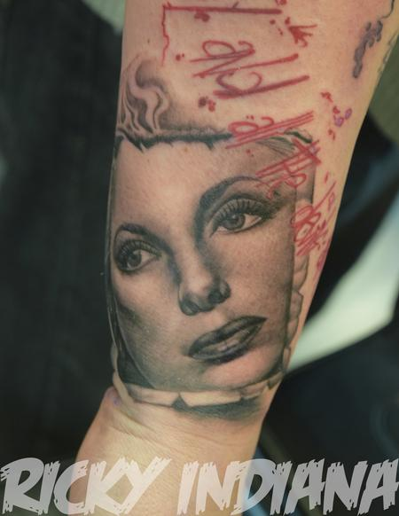 Tattoos - Portrait of Julie London - 125009