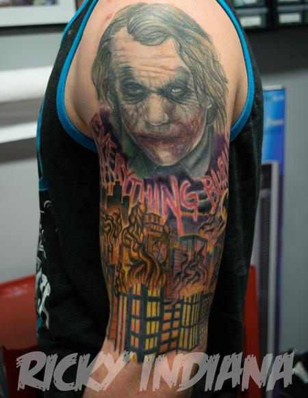 Tattoos - Dark Knight scene- Work in Progress - 125005