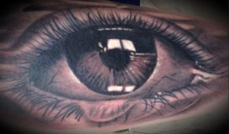 Tattoos - Realistic Eye - 99617