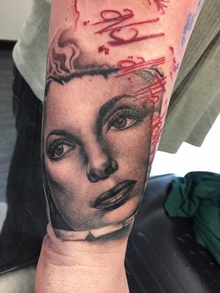 Tattoos - Julie London Portrait - 106112