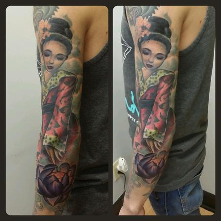 Tattoos - Geisha - 94300