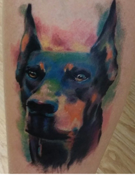 Tattoos - Doberman - 94302