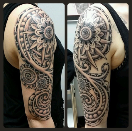 Tattoos - Mandala Sleeve - 94307