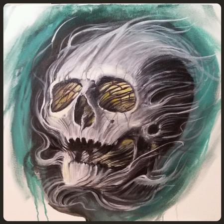 Matt Stines - Skull Concept