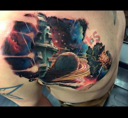 Randall Wagoner - Sci-Fi outer space cover up