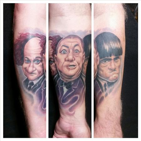 Tattoos - Three Stooges - 99622