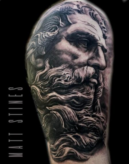 Tattoos - poseidon tattoo - 132823