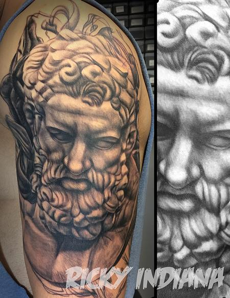 Tattoos - Portrait of Heracles - 125020
