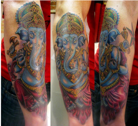 Su Houston - Ganesh Tattoo