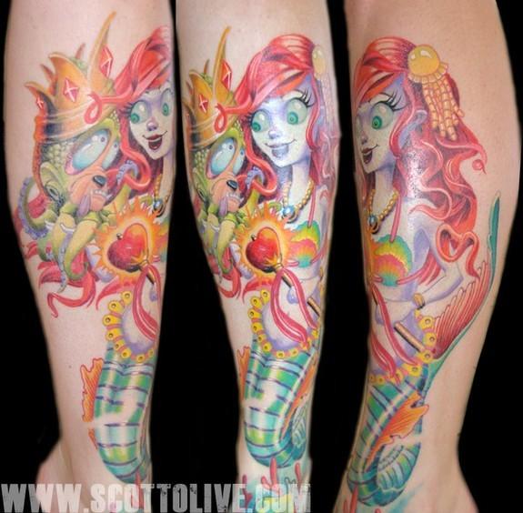 Scott Olive - Miss Mermaid