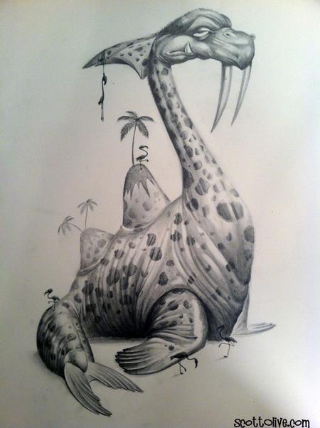 Scott Olive - Dino Island