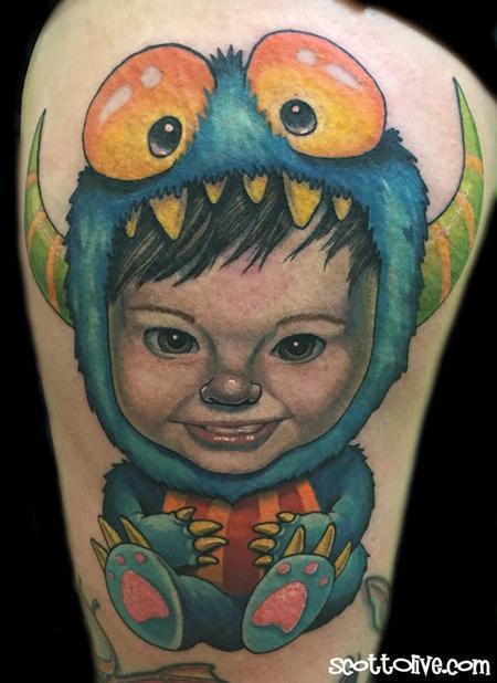 Tattoos - Little Monster - 115850