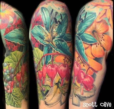 Scott Olive - color realism flowers