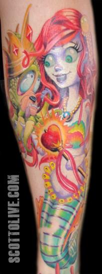 Scott Olive - Little Mermaid closeup
