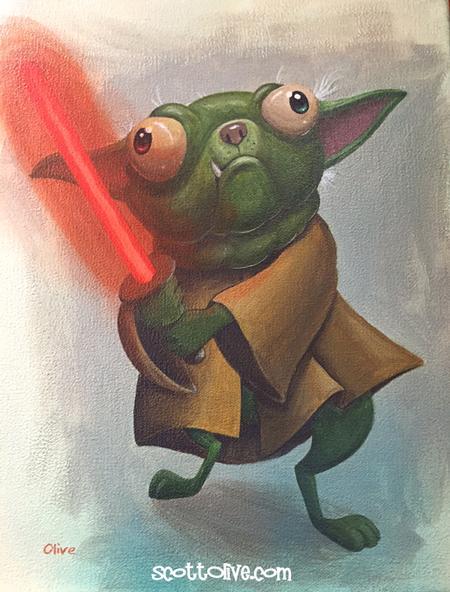 Scott Olive - Pug Yoda