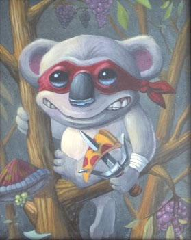Scott Olive - Teenage Koala Pizza Ninja