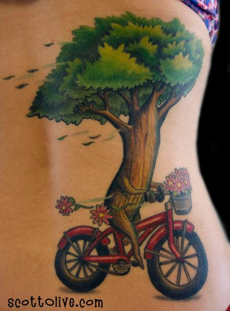 Tree Riding Bike Design Thumbnail