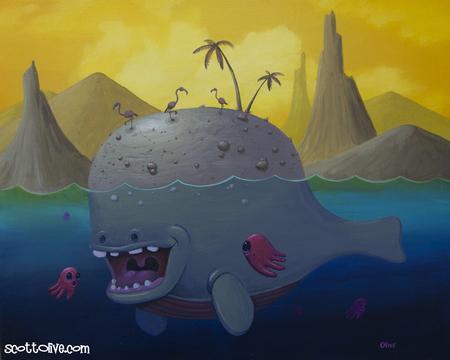 Scott Olive - Whale Island