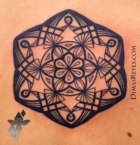Tattoos - Mandala Tattoo  - 117857
