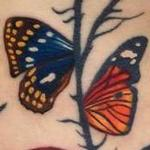 Tattoos - Salvador Dali Butterflies Tattoo - 117848
