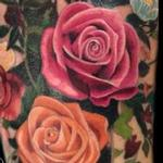Tattoos - Realistic Color Flower Bouquet Tattoo - 119325