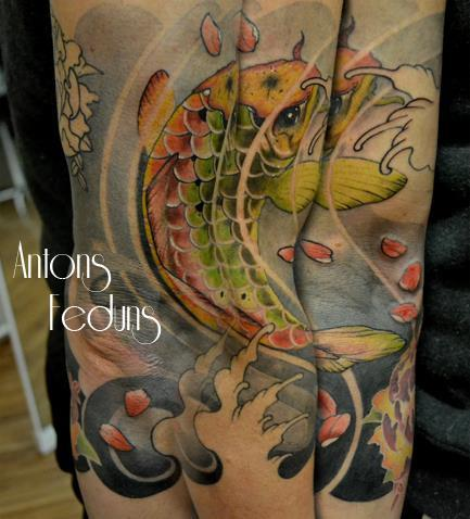 Tattoos - Good omen fish - 88720