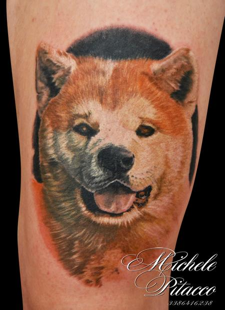 Akita Dog Design Thumbnail