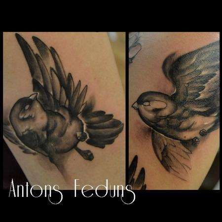 Two Birds Tattoo Design Thumbnail