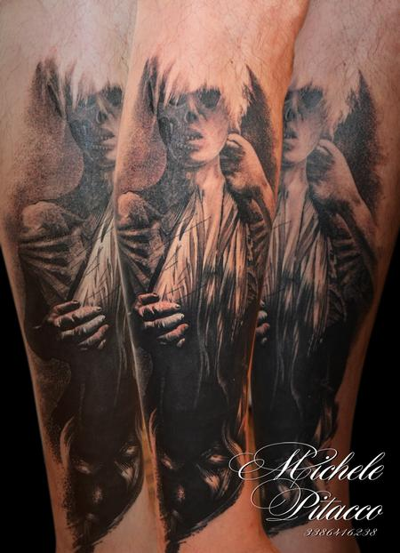 Tattoos - Skull woman - 123123