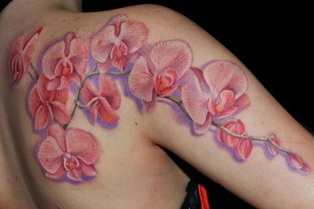 Tattoos - Orchid - 94833