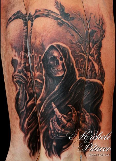 Death Tattoo Design Thumbnail