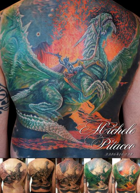 Tattoos - Dragon - 116069