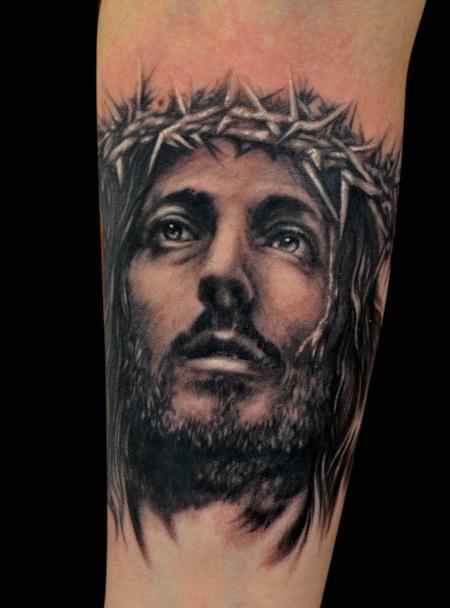 Jesus Tattoo Design Thumbnail