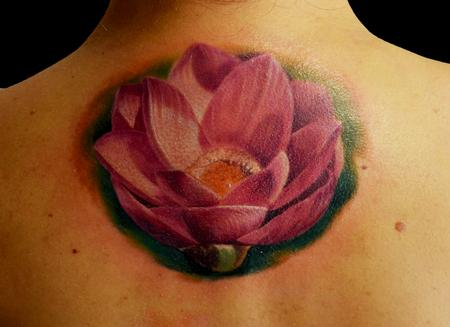 Tattoos - Loto Flower - 100509