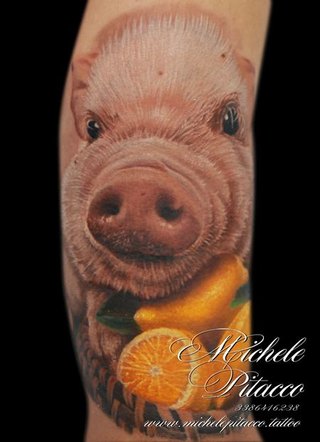 pig Tattoo Design Thumbnail