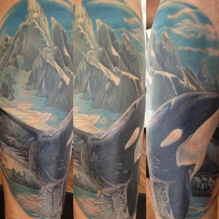 Tattoos - michele@offthemaptattoo.com, shark whale - 89340