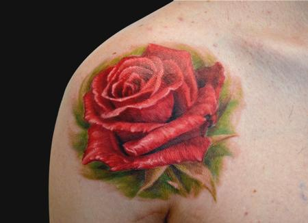 Rosa Tattoo Design Thumbnail