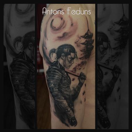 Antons Feduns - Fading Samurai