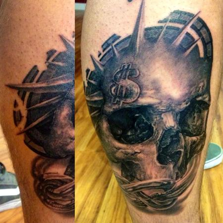 michele@offthemaptattoo.com, skull, teschio Tattoo Design Thumbnail