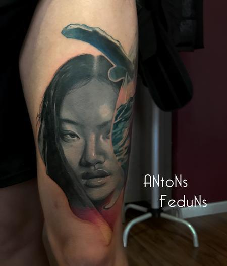 When Oceans Bewail Tattoo Design Thumbnail